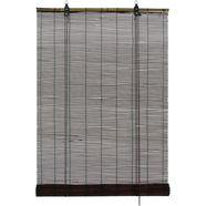 gardinia rolgordijn met zijbediening bamboe-rolgordijn bruin