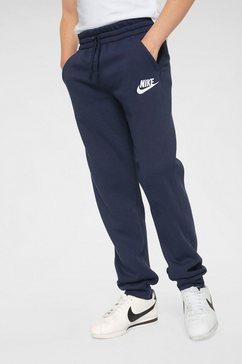 nike sportswear joggingbroek »boys nike sportswear club fleece jogger pant« blauw