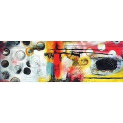 wanddecoratie »abstract i« multicolor