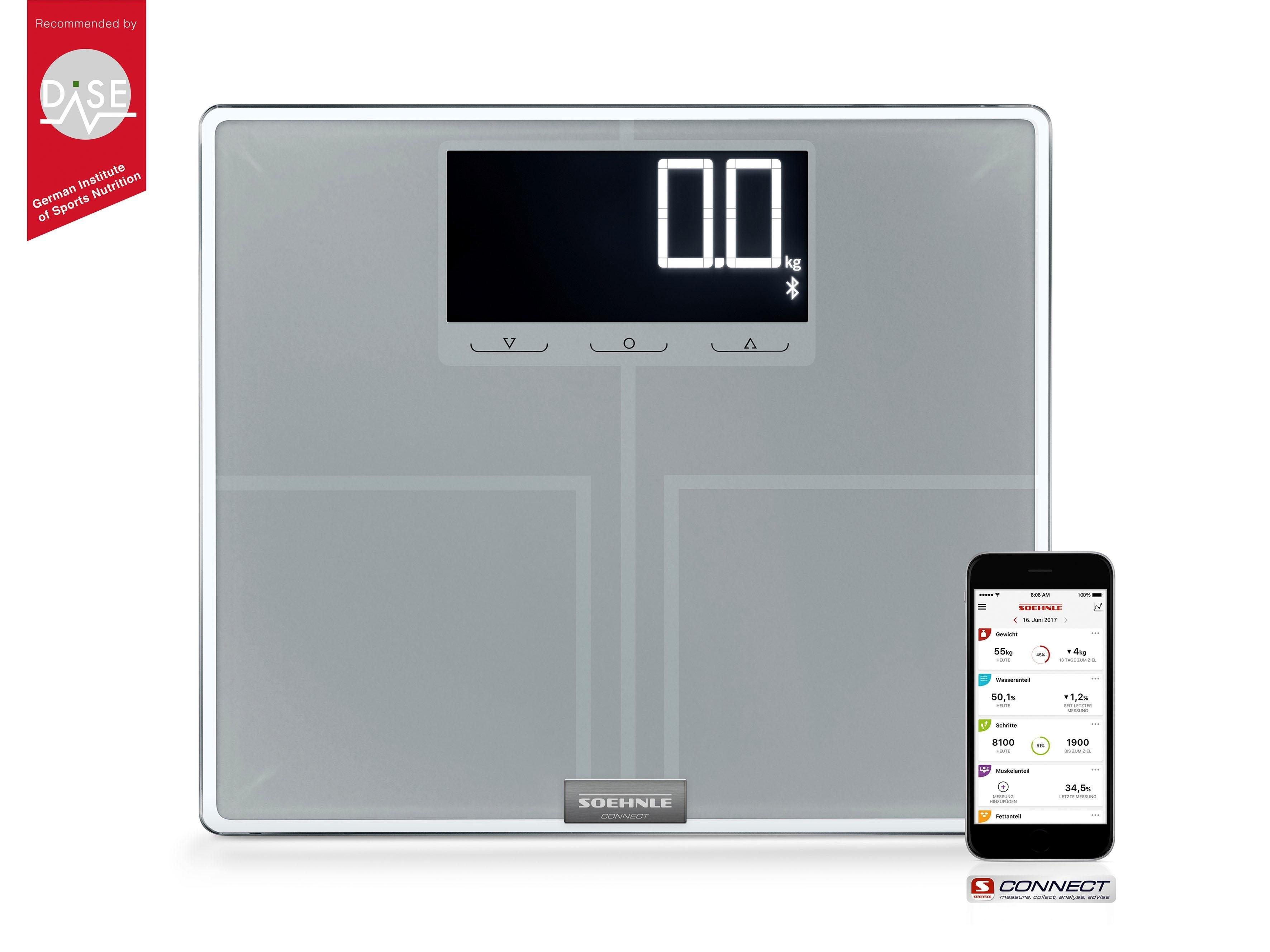 Soehnle lichaamsanalyseweegschaal Shape Sense Connect 200, met Bluetooth® in de webshop van OTTO kopen