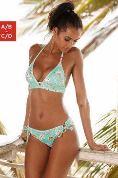 sunseeker triangel-bikinitop blauw