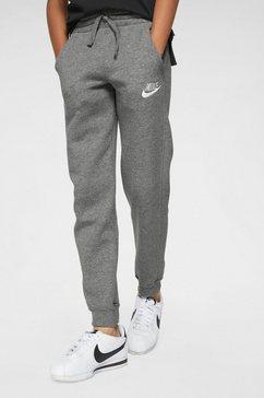 nike sportswear joggingbroek »boys nike sportswear club fleece jogger pant« grijs