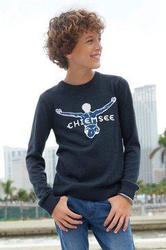 chiemsee gebreide trui blauw