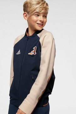 adidas performance collegejack »young boy vrct jacket« blauw