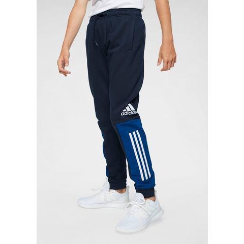 adidas performance sportbroek donkerblauw-blauw