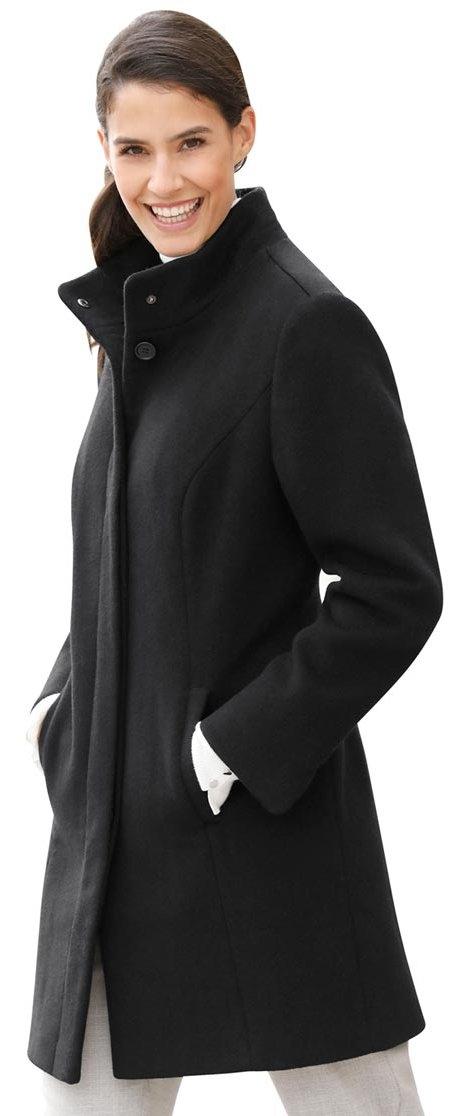 Classic Inspirationen lange jas met hoog warm wolaandeel - verschillende betaalmethodes