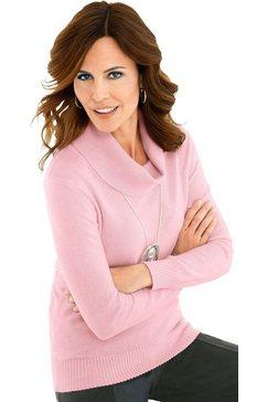 classic trui in lichte kasjmierkwaliteit roze