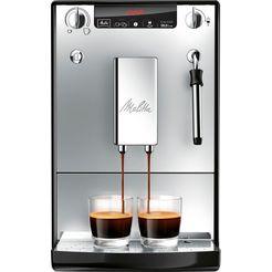 melitta volautomatisch koffiezetapparaat solo  milk e953-102, 1,2l tank zilver