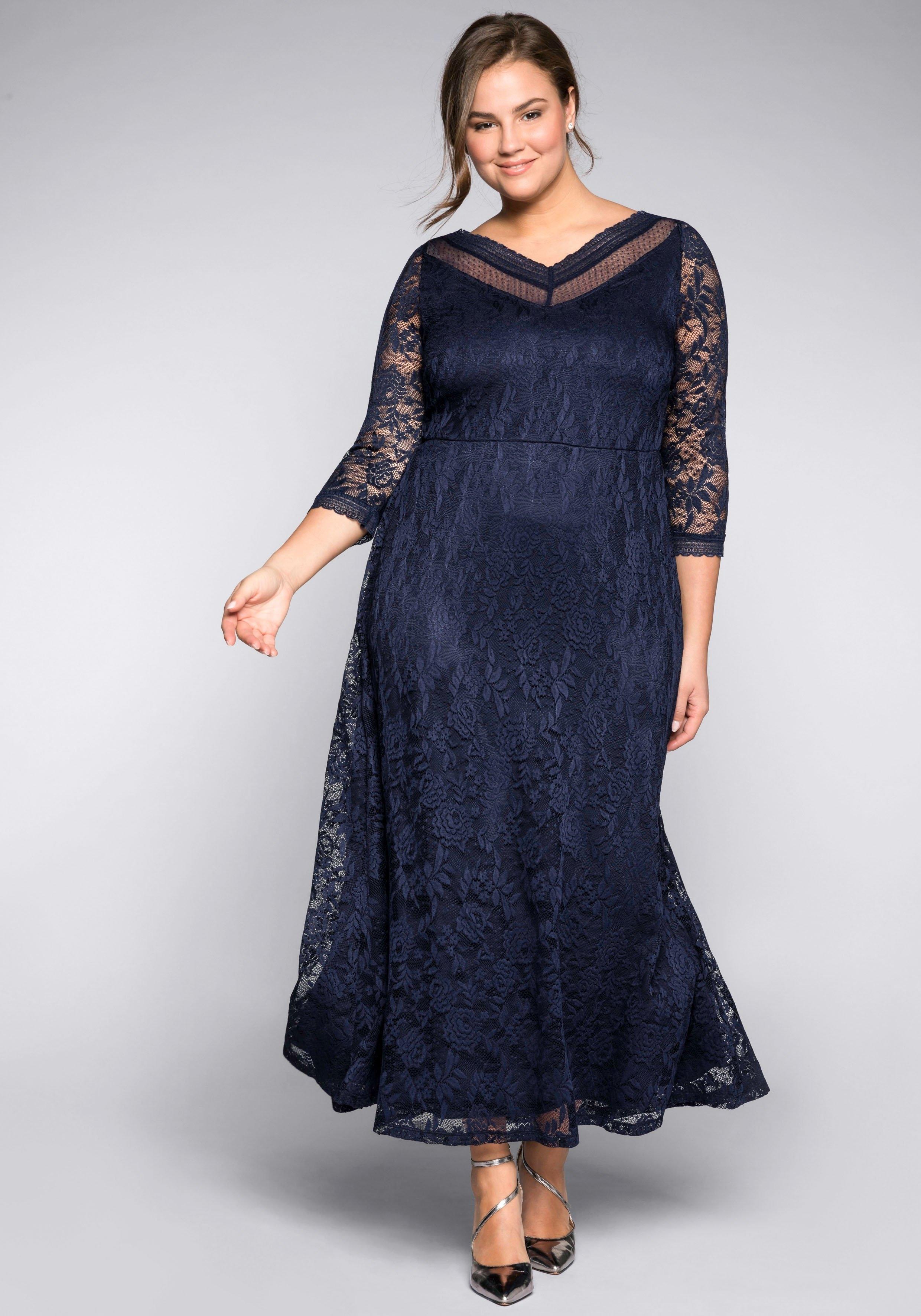 Sheego Style kanten jurk bestellen: 14 dagen bedenktijd