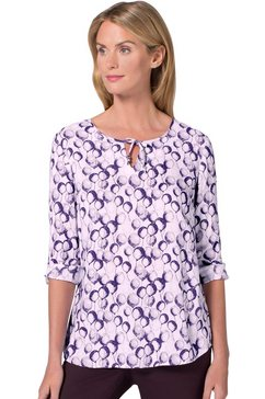ambria blouse met mooie ballonprint paars