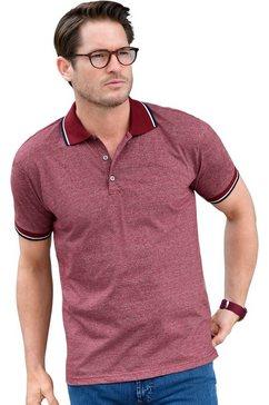 catamaran shirt met korte mouwen en polokraag rood