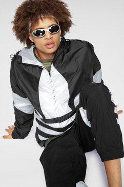 adidas originals windbreaker »big trefoil windbreaker« zwart