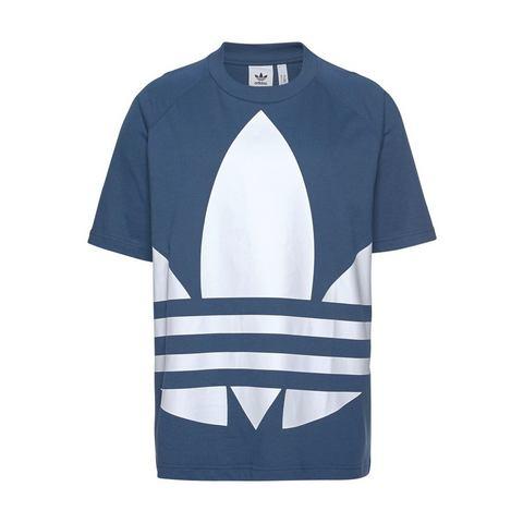 adidas originals Adicolor T-shirt donkerblauw-wit