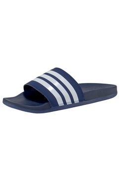 adidas performance badslippers »adilette comfort« blauw