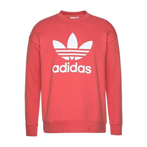 adidas originals sweater koraalrood