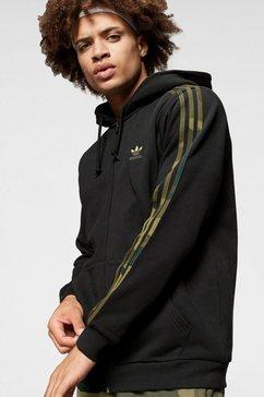 adidas originals capuchonsweatvest »camo full zip« zwart