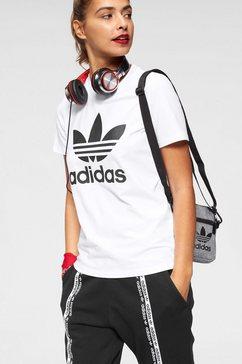 adidas originals t-shirt »trefoil tee« wit