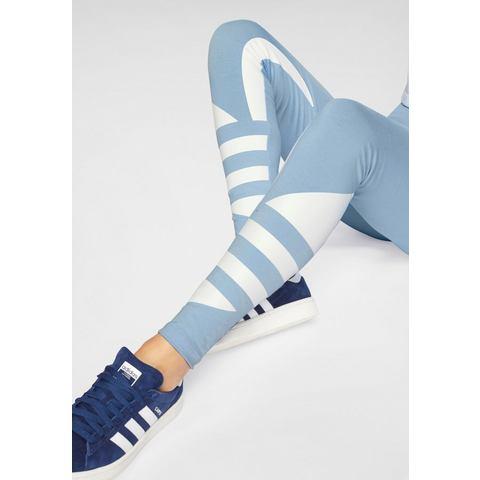 adidas Originals Adicolor legging lichtblauw-wit