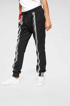 adidas originals joggingbroek »cuff pant« zwart