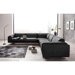 places of style hoekbank »randen« zwart