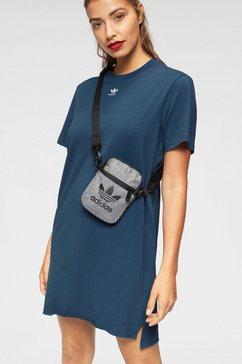 adidas originals shirtjurk »frefoil dress« blauw