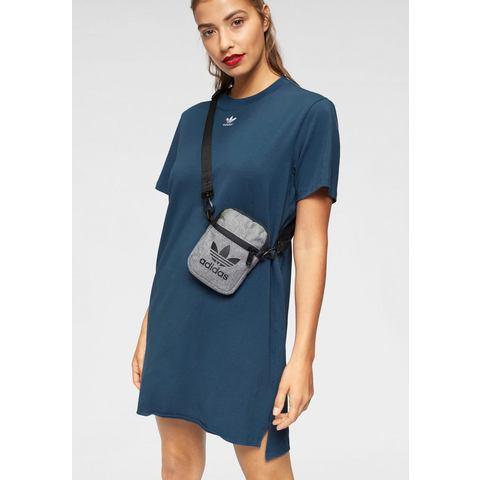 adidas Originals Adicolor T-shirt jurk blauw-wit