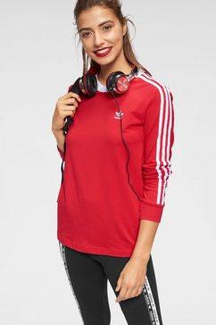 adidas originals shirt met lange mouwen »3 stripes long sleeve« rood