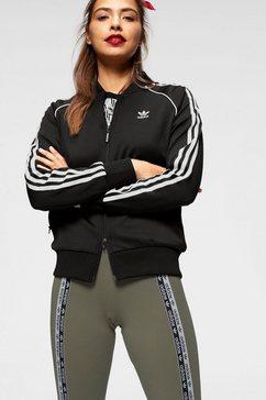 adidas originals trainingsjack »superstar track jacket« zwart