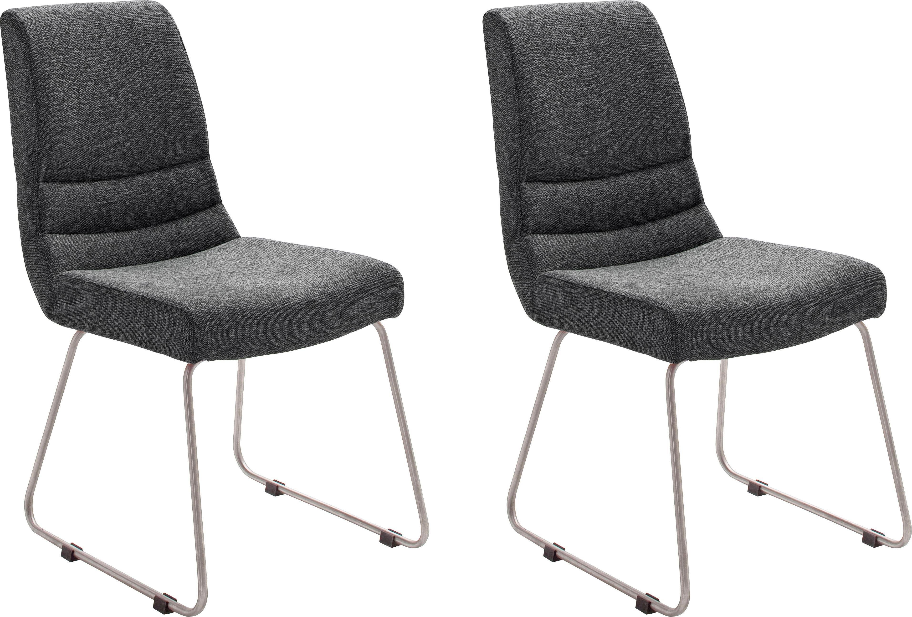 MCA furniture stoel MONTERA Stoel belastbaar tot 140 Kg (set, 2 stuks) online kopen op otto.nl