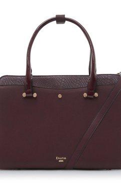 dune london tas »dependriaa« rood
