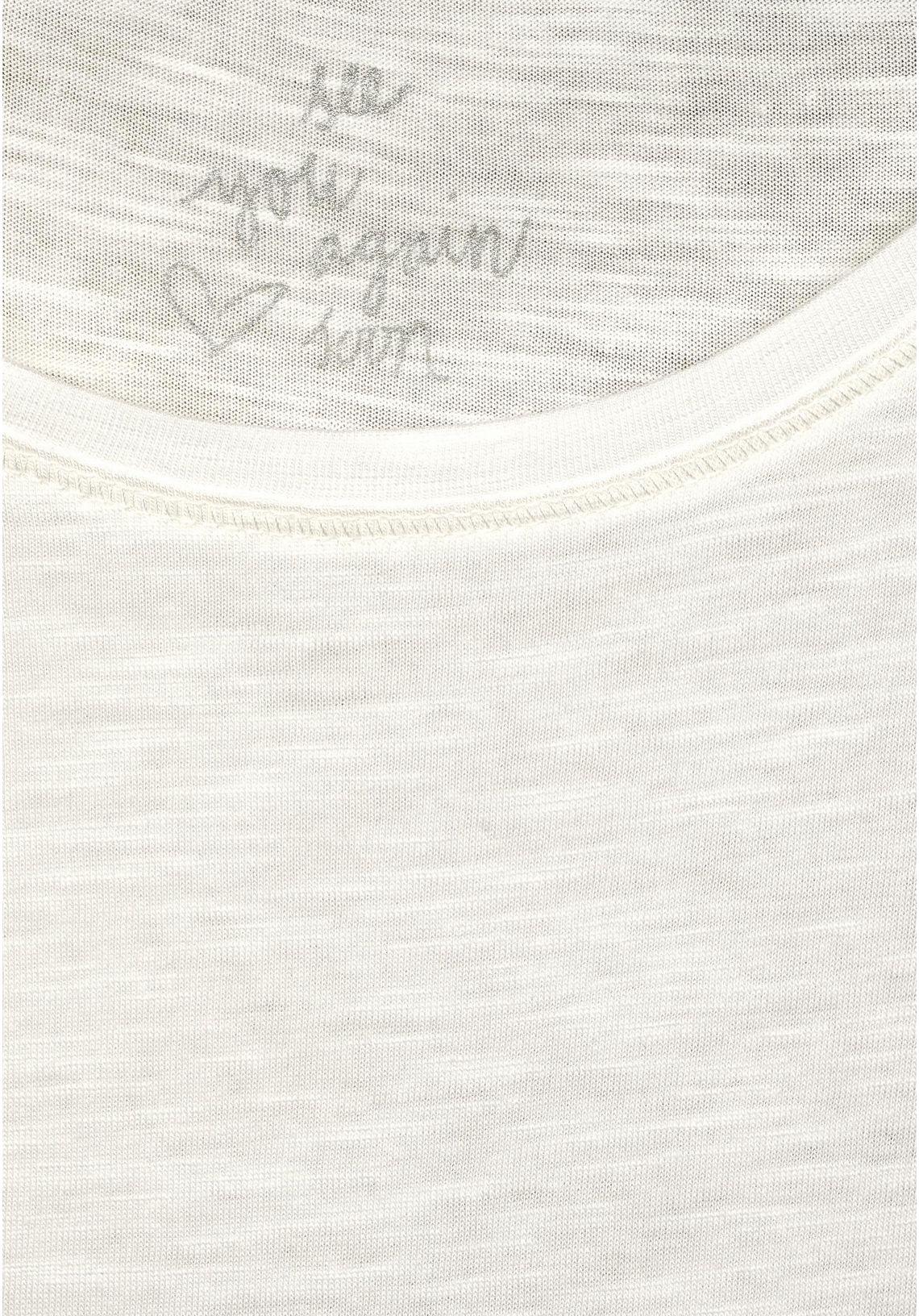 Cecil Shirt Met Ronde Hals In De Online Shop Offwhite YodL6LpP
