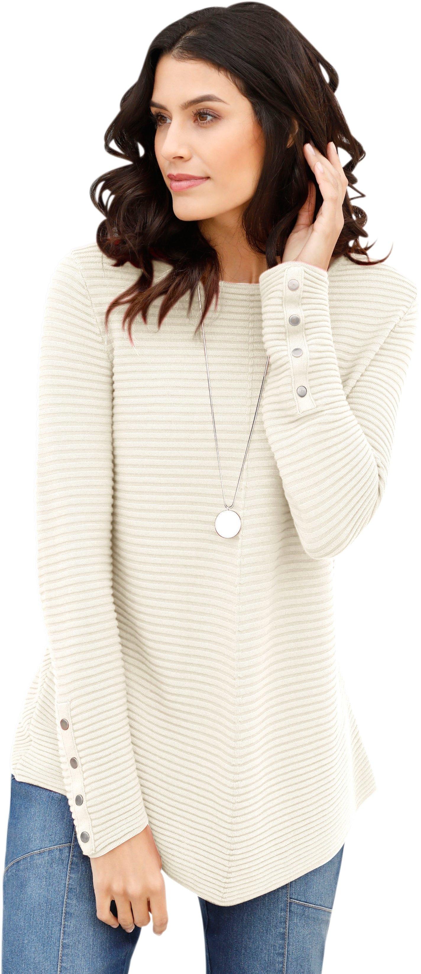 Classic Inspirationen trui met sierstuds nu online kopen bij OTTO