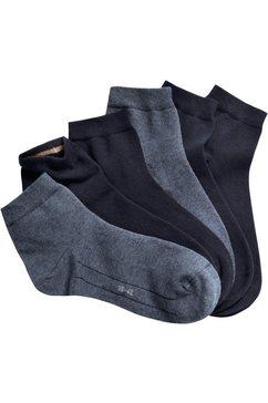 camano lage sokken (set van 7 paar) blauw