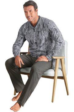 waeschepur pyjama grijs