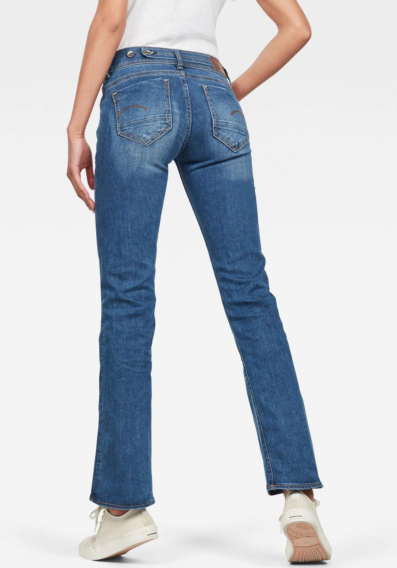 Op zoek naar een G-Star Raw bootcut jeans »Midge Mid Bootcut«? Koop online bij OTTO