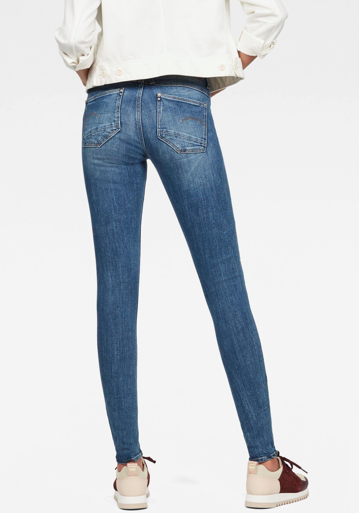 G-Star Raw skinny fit jeans »Lynn Mid Super Skinny« nu online kopen bij OTTO