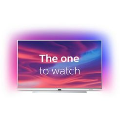 philips 'the one' 55pus7304-12 led-tv (139 cm - 55 inch), 4k ultra hd, smart-tv zilver