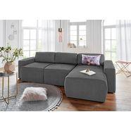 domo collection hoekbank grijs