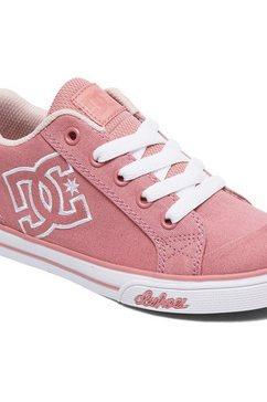 dc shoes - chelsea tx - schoenen voor meisjes rood