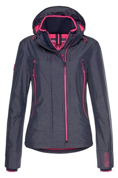 superdry windbreaker »arctic velocity windcheater« blauw
