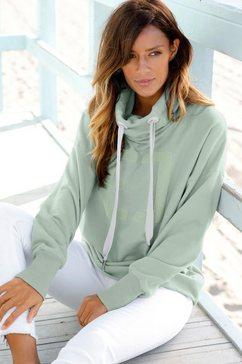 elbsand sweatshirt »arndis« groen