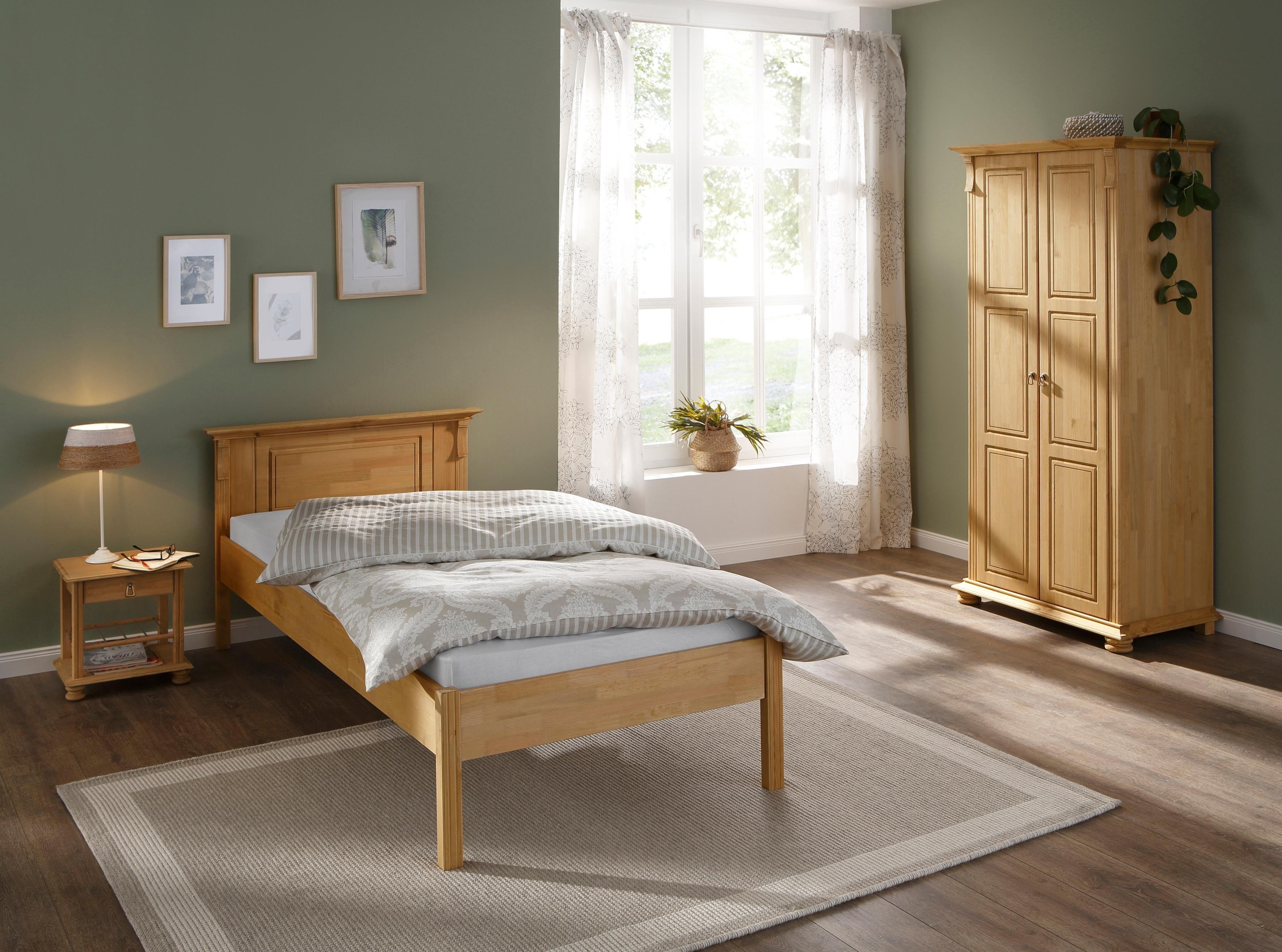 Home affaire slaapkamerserie Mitu gemaakt van massief grenen (3 delen) (set, 3 stuks) nu online kopen bij OTTO