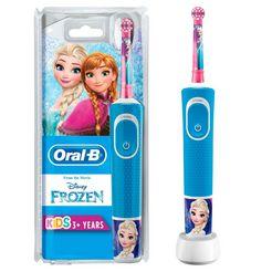 oral b elektrische kindertandenborstel frozen elektrisch, opzetborsteltjes: 1 blauw