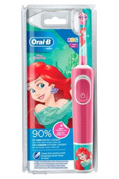oral b elektrische kindertandenborstel disney princess, opzetborsteltjes: 1 roze