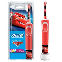 oral b elektrische kindertandenborstel cars rood