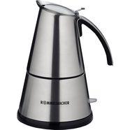 rommelsbacher »eko 366-e« espressoapparaat zilver