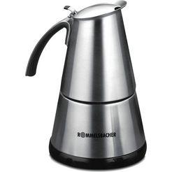 rommelsbacher »eko 364-e« espressoapparaat zilver