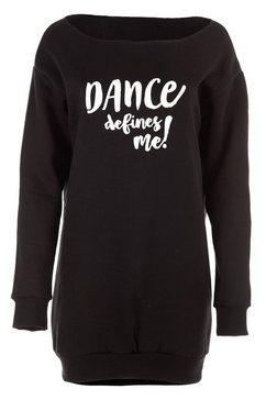 winshape sweater ls002 casual en wijd sweatshirt zwart