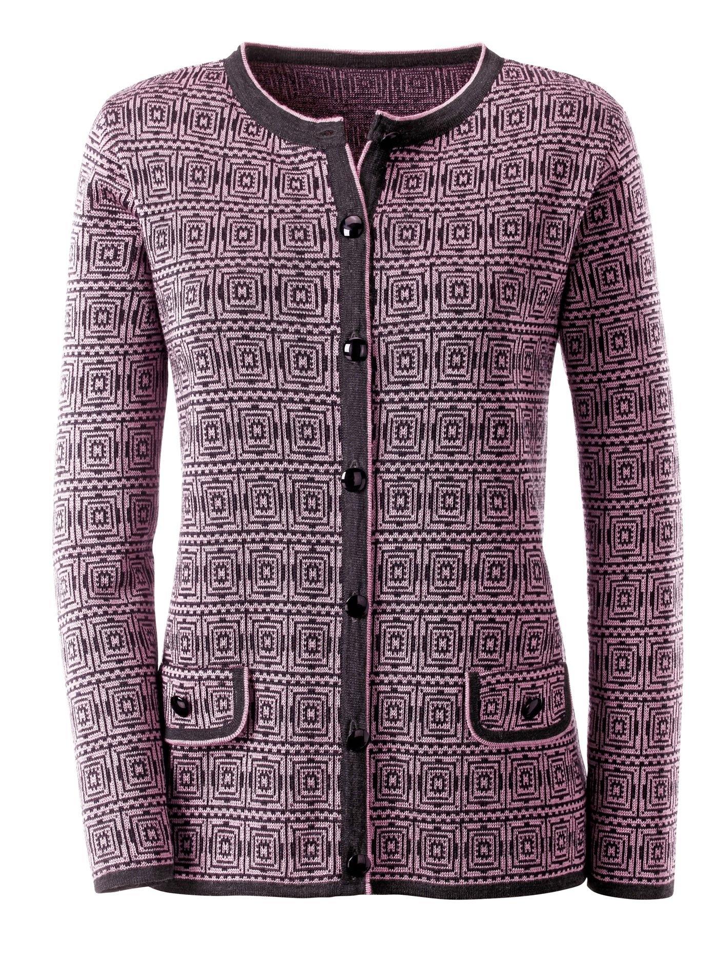 Classic vest met een luxueus jacquarddessin online kopen op otto.nl