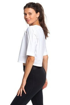 roxy technical cropped t-shirt ''back to coolangatta'' wit